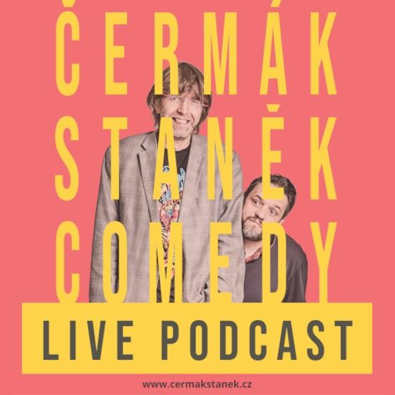 Čermák Staněk Comedy<br>200. Podcast Livestream<br>Záznam z 22.10.2021