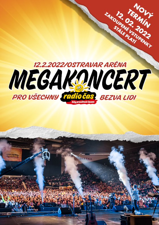 Megakoncert Radia Čas<br>pro všechny bezva lidi