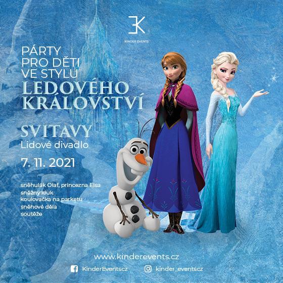 Párty pro děti<br>Ve stylu ledového království