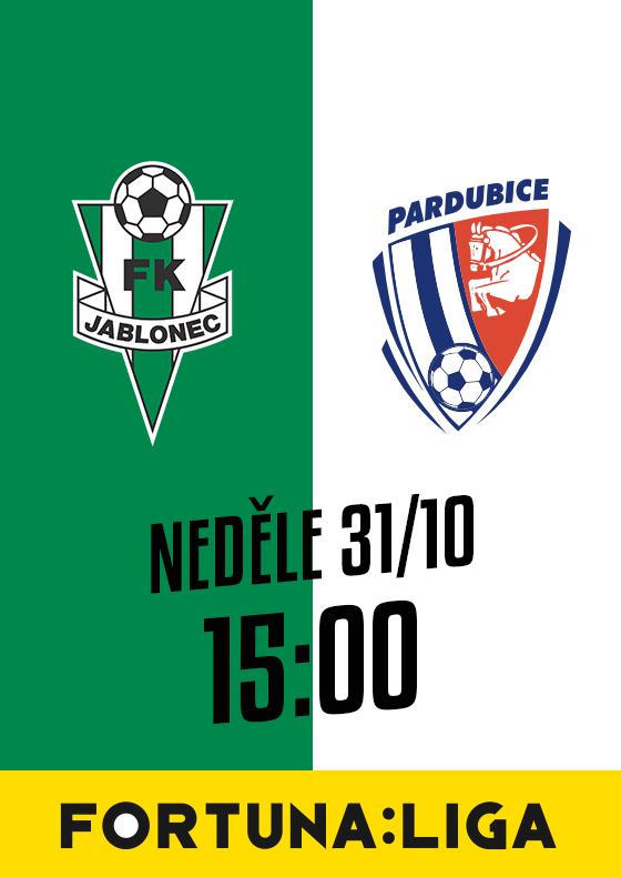 FK Jablonec vs. FK Pardubice<br>SEZÓNA 2021/2022<br>Fortuna:Liga