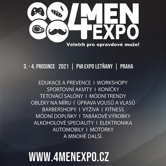 4Men Expo 2021<BR>Veletrh pro opravdové muže