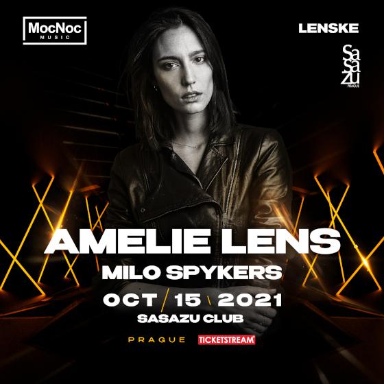 AMELIE LENS/in PRAGUE/- Praha -Club SaSaZu Praha