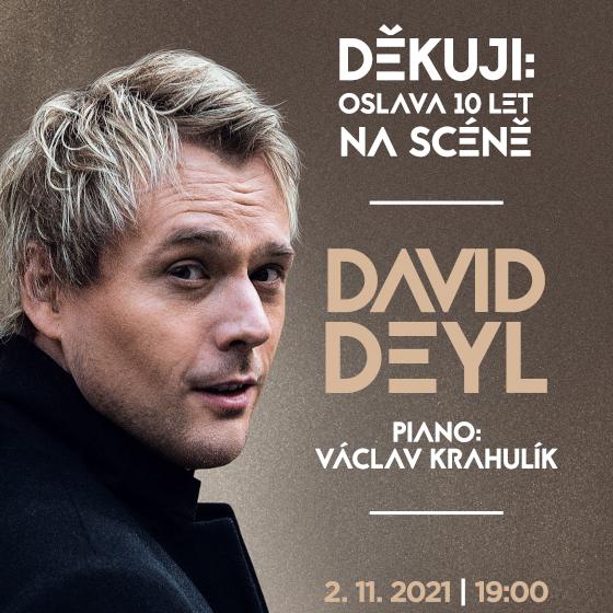 David Deyl<br>Děkuji! - Tour