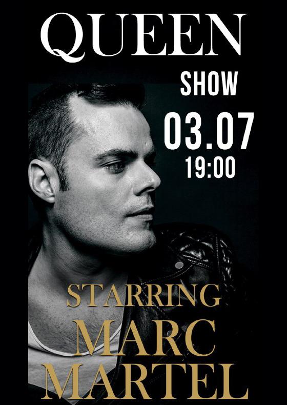 Queen Show<br>Starring Marc Martel