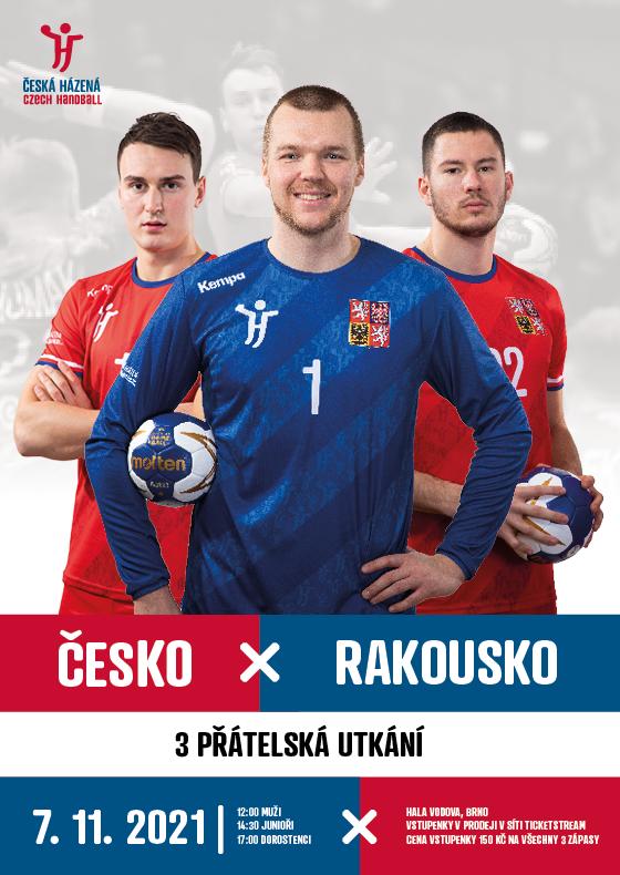 Handball - men<br>Czech Republic - Austria