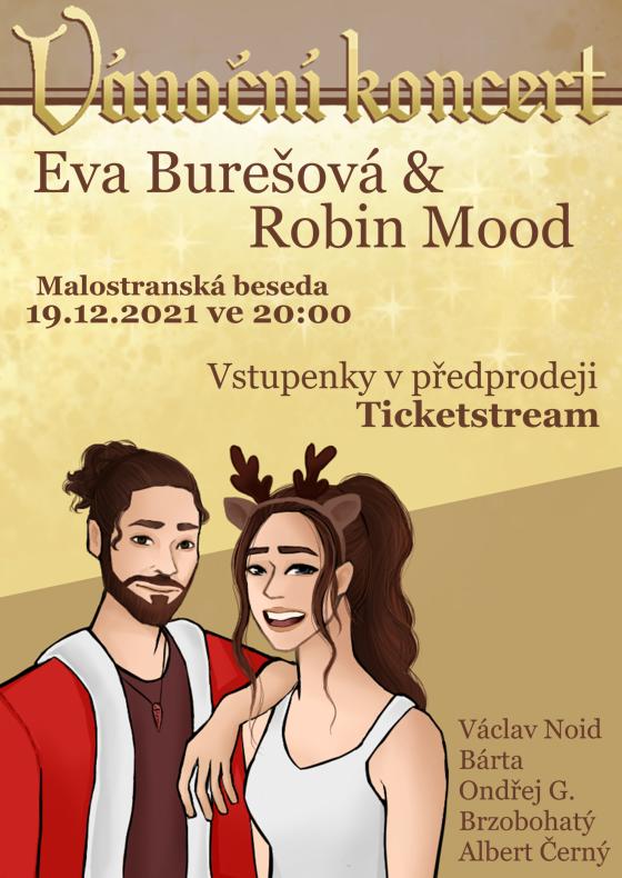 Vánoční koncert Eva Burešová & Robin Mood