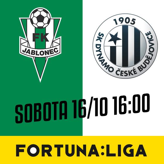 FK Jablonec vs. SK Dynamo České Budějovice<br>SEZÓNA 2021/2022<br>Fortuna:Liga