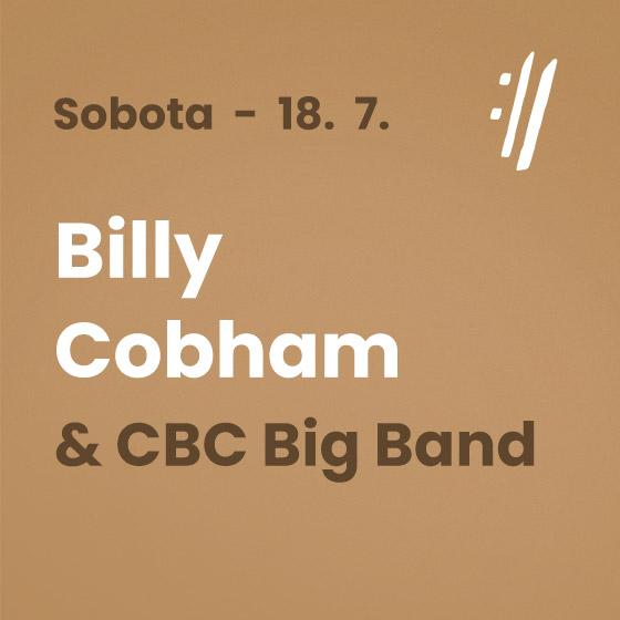 Billy Cobham<BR>International Music Festival Český Krumlov 2020