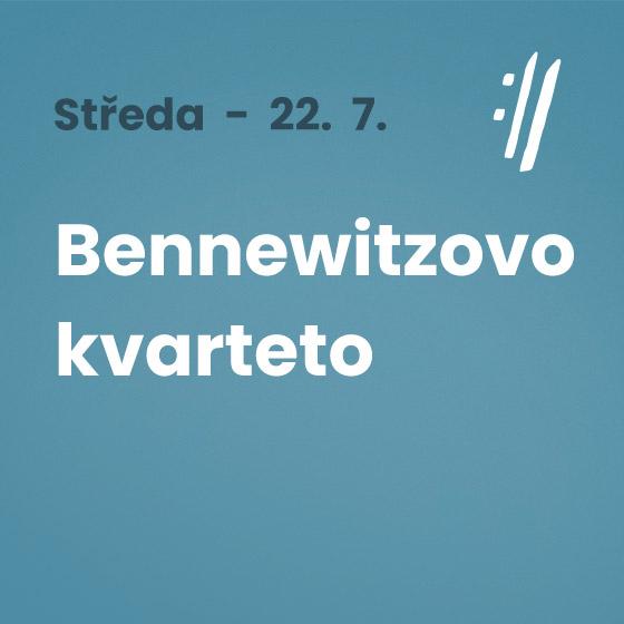 Bennewitz Quartet<BR>International Music Festival Český Krumlov 2020
