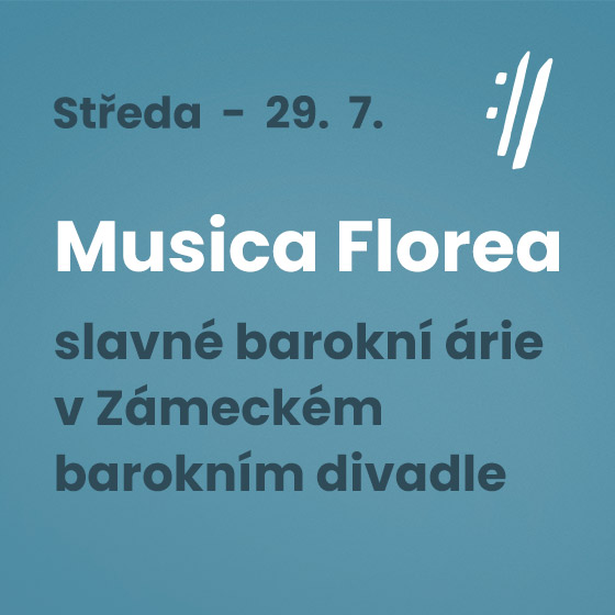 Musica Florea and soloists<BR>International Music Festival Český Krumlov 2020