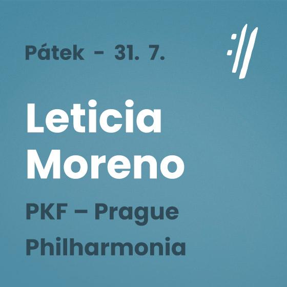 Leticia Moreno<BR>International Music Festival Český Krumlov 2021