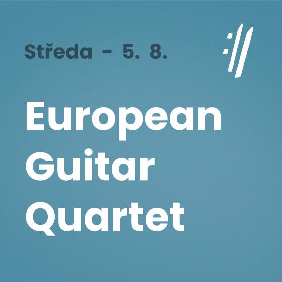 European Guitar Quartet<BR>International Music Festival Český Krumlov 2020