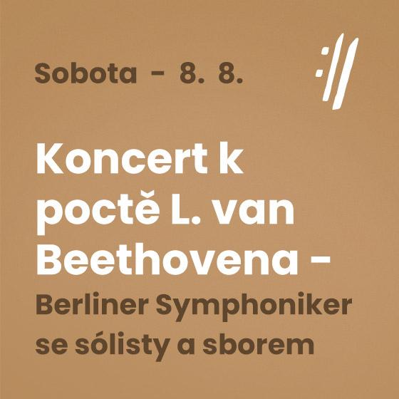 Berliner Symphoniker and soloists<BR>International Music Festival Český Krumlov 2020