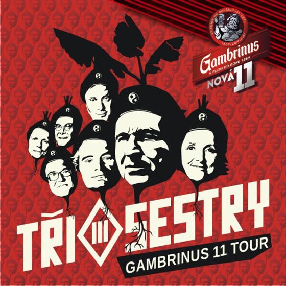 Tři Sestry<br>Gambrinus 11 tour<br>host: E!E, Pirates of the Pubs