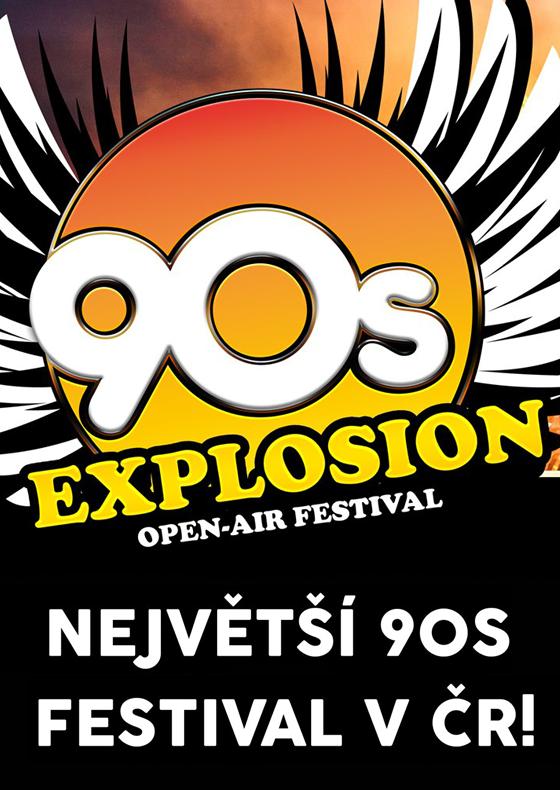 90s Explosion open-air festival Prague 2020