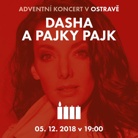 Dasha a Pajky Pajk<BR>Adventní koncert Děti k dětem