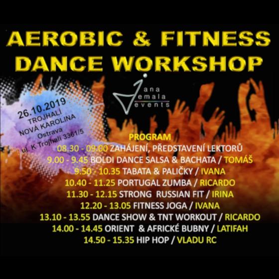 Aerobic & Fitness dance workshop