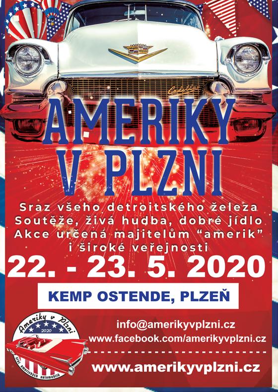 Ameriky v Plzni