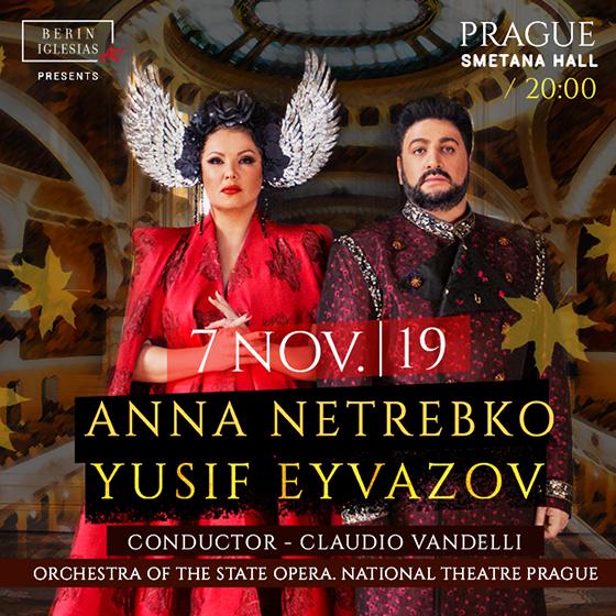 Anna Netrebko<br>Yuzif Eyvazov