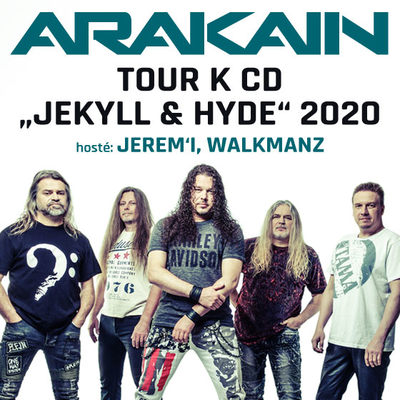 Arakain<br>Tour k CD Jekyll & Hyde 2020