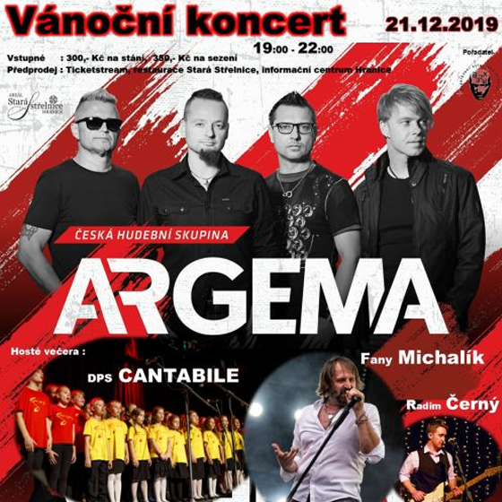 Argema - Vánoční koncert