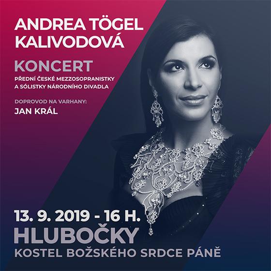 Andrea Tögel Kalivodová<br>pěvecký koncert