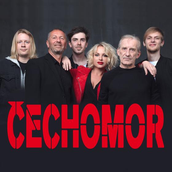 Čechomor + Kandráčovci (SK) + Voxel<br>Čechomor Kooperativa Tour<br>Host Čechomoru: Martina Pártlová