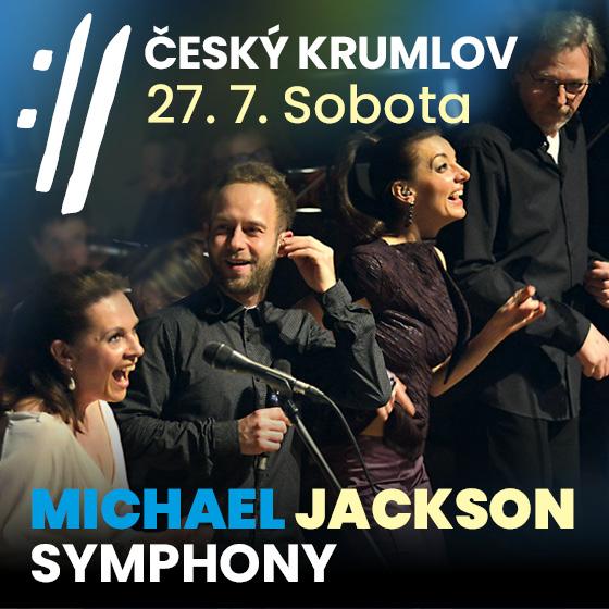 Michael Jackson Symphony<BR>Mezinárodní hudební festival Český Krumlov 2019