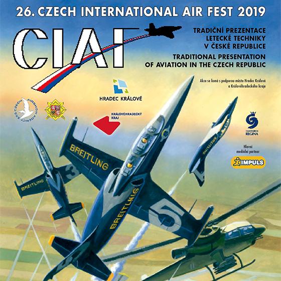 XXVI. CZECH INTERNATIONAL AIR FEST<br>CIAF 2019