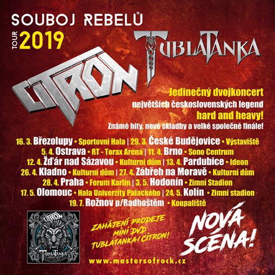 Citron & Tublatanka<BR>Souboj rebelů tour 2019