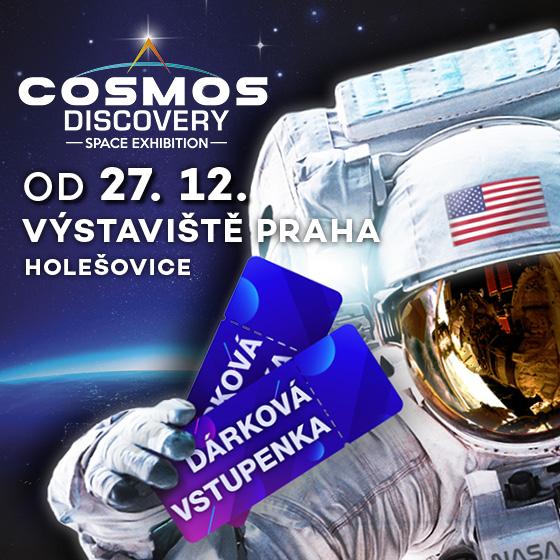 Cosmos Discovery<br>Světová výstava kosmonautiky<br>Dárková vstupenka
