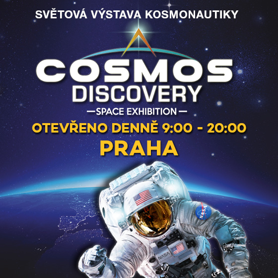 Cosmos Discovery<br>Akce Billa 1+1