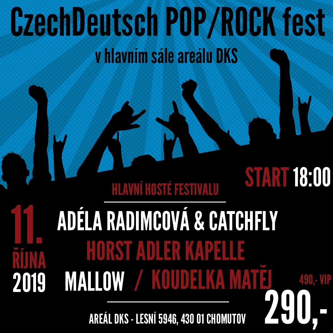 CzechDeutsch POP/ROCK fest<BR>Adéla Radimová & Catchfly<BR>Horst Adler Kapelle / Mallow a Koudelka Matěj
