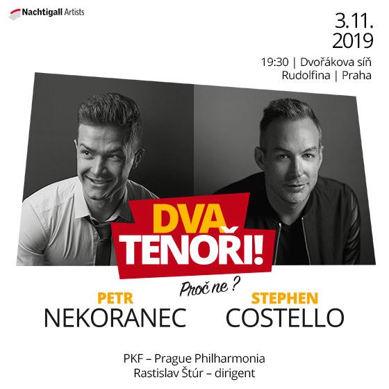 Stephen Costello a Petr Nekoranec