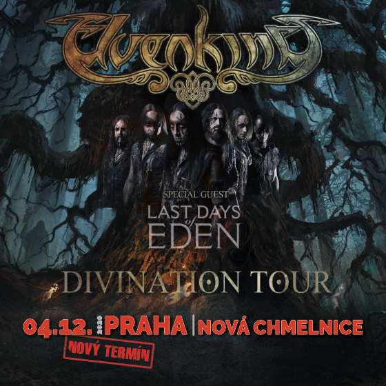 Elvenking<br>Divination Tour<br>Last Days of Eden