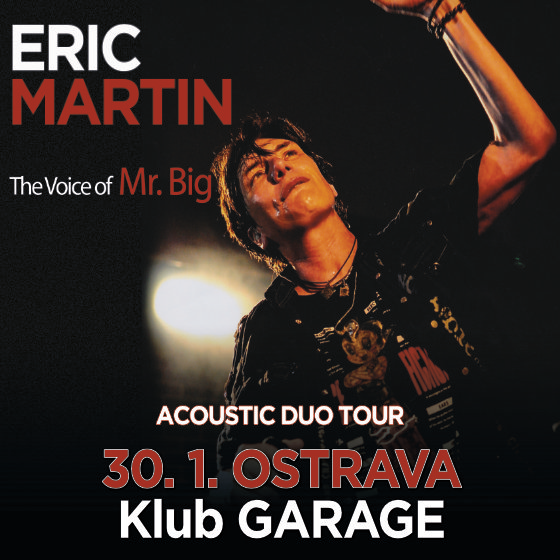 Eric Martin<br>The Voice of Mr.Big