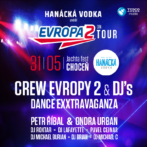 Hanácká Vodka Evropa 2 Open Air