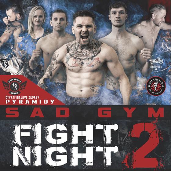 Sad Gym Fight Night 2