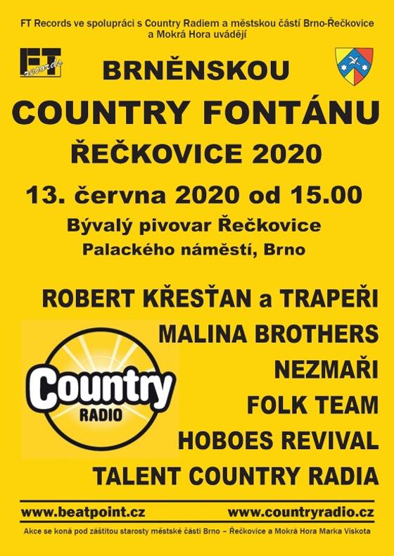 Brněnská Country fontána