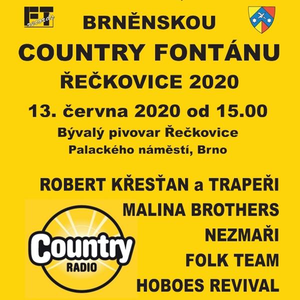 Brněnská Country fontána<BR>Řečkovice 2021