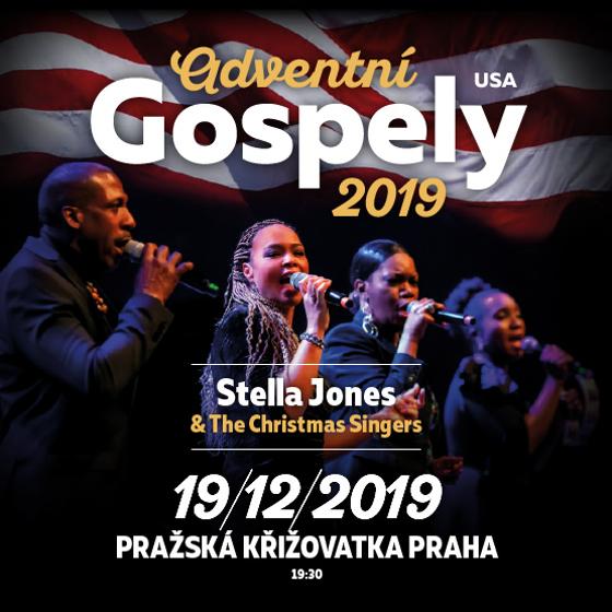 Adventní gospely<BR>Stella Jones & The Christmas Singers