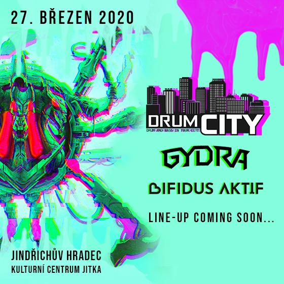Drumcity w/Gydra