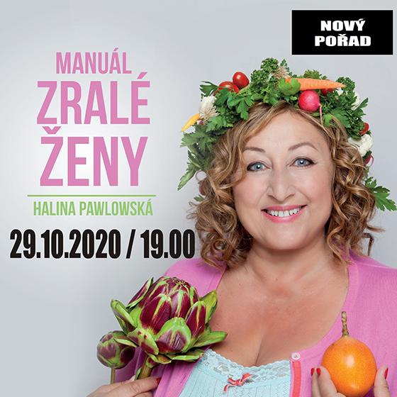 Halina Pawlowská<br>Manuál zralé ženy<br>Talk show.