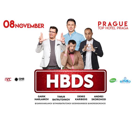 HBDS show<br>Garik Harlamov, Timur Batrudinov, Demis Karibidis, Andrei Skorohod<br><b>Vstup 18+</b>