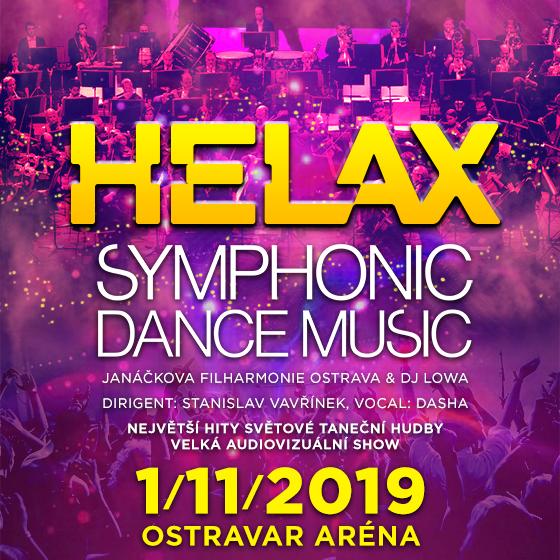 Helax Symphonic Dance Music<BR>Janáčkova filharmonie & DJ Lowa<BR>Největší hity taneční hudby