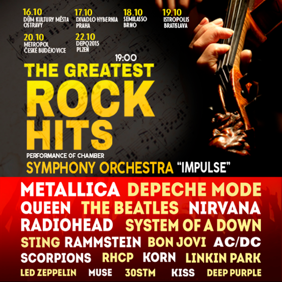 Impulse<BR>Symphony Orchestra<BR>The greatest Rock Hits