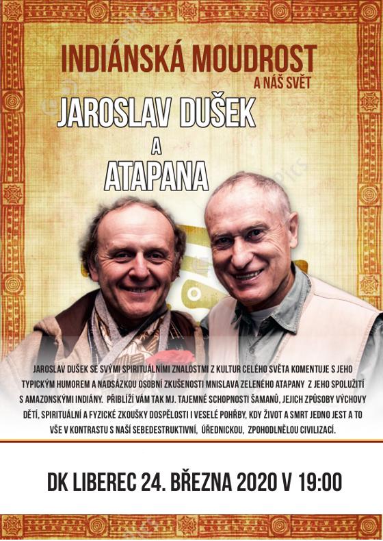Indiánská moudrost a náš svět<br>Jaroslav Dušek & Atapana
