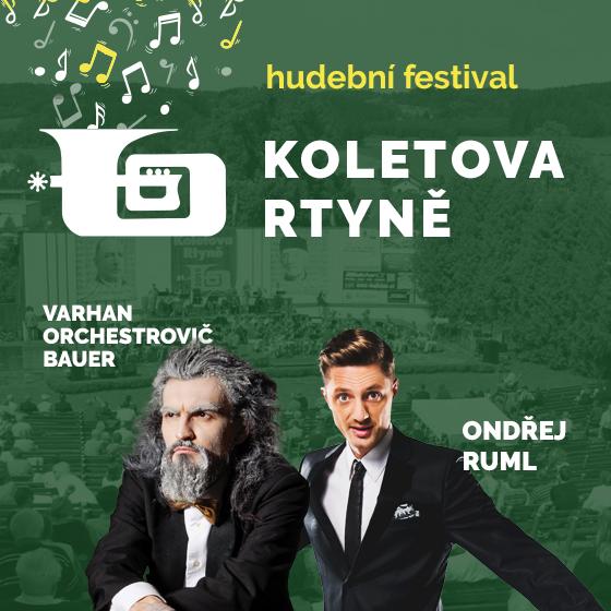Koletova Rtyně - Bez večerního koncertu Ondřeje Rumla