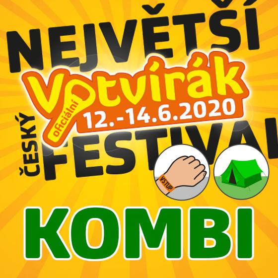 Festival Votvírák 2020<br><b><font color=red>Klubová karta Kombi</font></b>