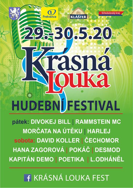 Festival Krásná Louka 2020